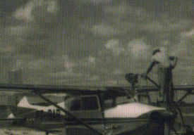 Avião da Dalla Nora Hollada.